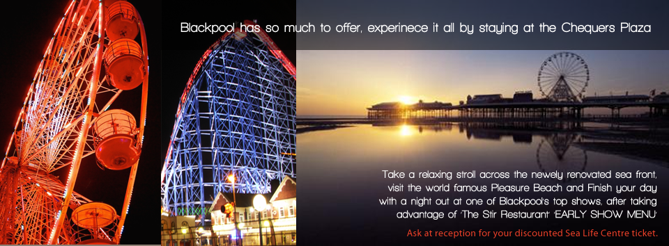 Blackpool Attractions Header
